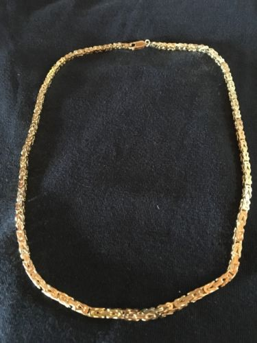 Gold Byzantine Chain - For Sale Classifieds