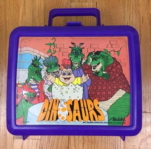 Dinosaurs TV Show Lunchbox 90s Nostalgia Pop Culture