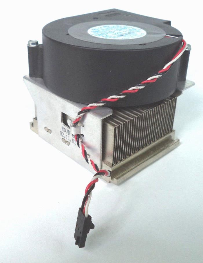 Heatsink Fan Combo 3 Pin Connector 7P182 Dell GX60 GX240 GX260 GX270