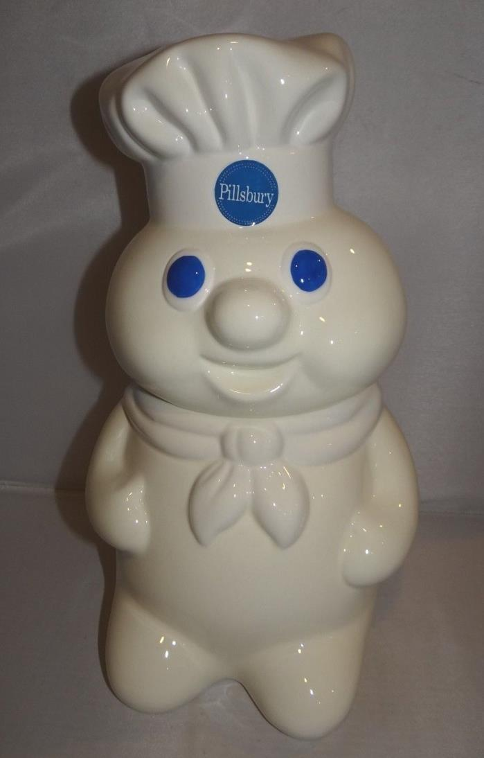 Vintage 1988 Pillsbury Doughboy Poppin Fresh Cookie Jar Ceramic