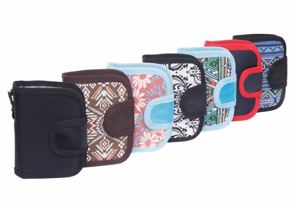 Slope Women's Bi-fold Money Wallet Thin Pocket Organizer w zipper & Card Holder