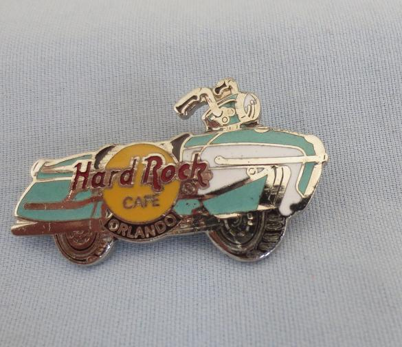 Hard Rock Cafe Enameled Motorcycle Pin
