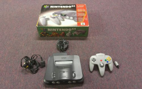 Nintendo 64 N64 System Complete