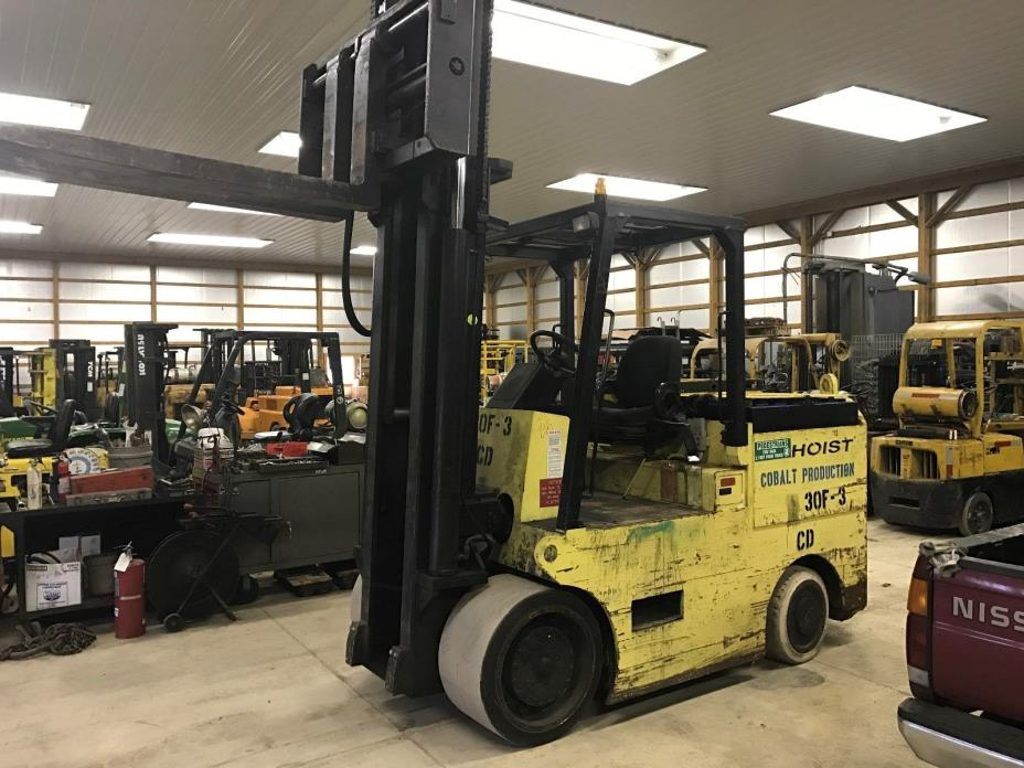 YEAR 1999 SILENT HOIST 32,000LB ELECTRIC FORKLIFT ONLY 5514 HOURS