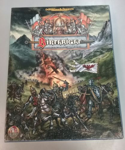 Advanced Dungeons and Dragons Birthright Campaign Box