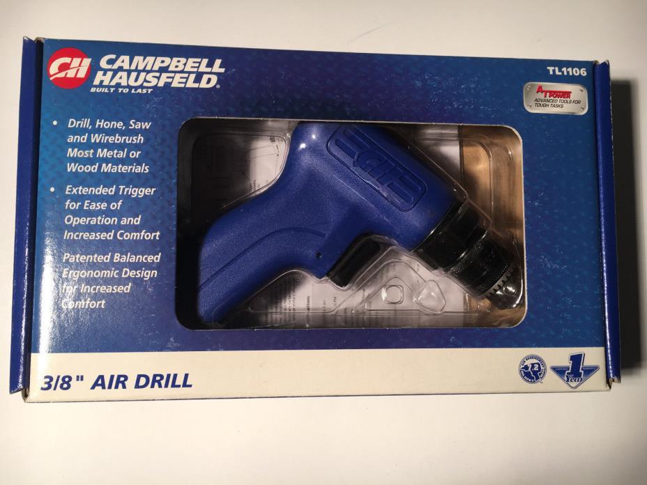 Campbell Hausfeld TL1106 Air Drill 3/8