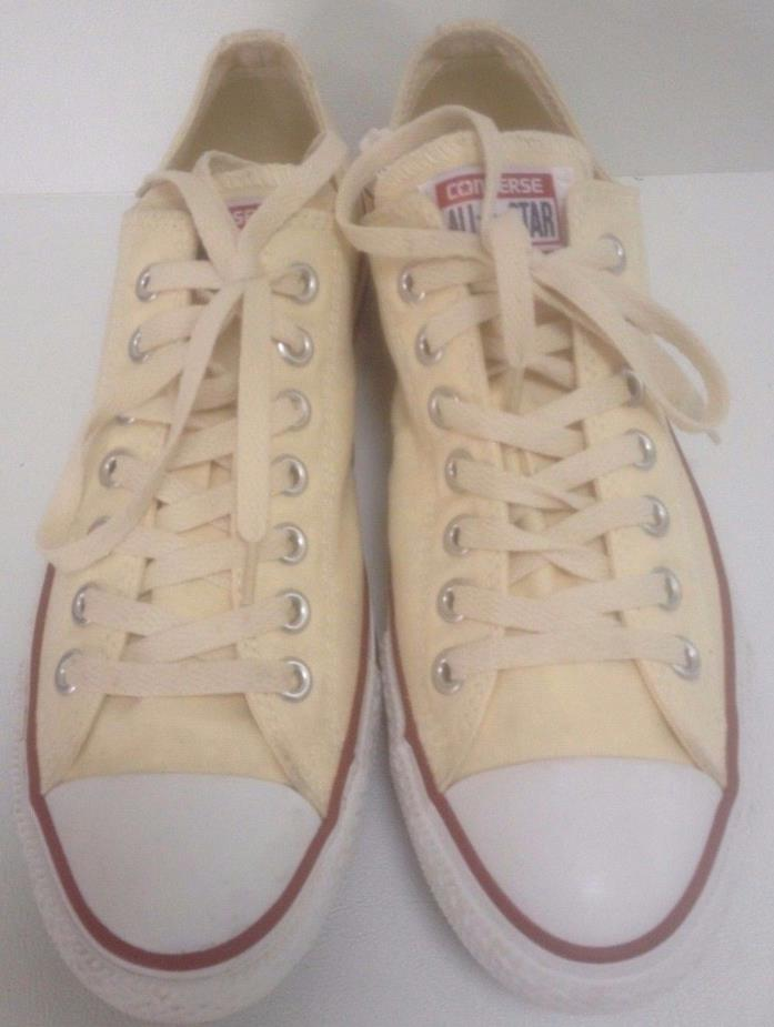 Converse All Star Off White Sneaker Shoe Chuck Taylor - Size W11 M9