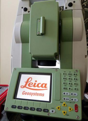 LEICA VIVA TS12 ROBOTIC TOTAL STATION GS08 PLUS GPS ROVER CS10 DATA COLLECTOR