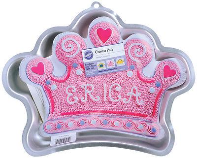 Novelty Cake Pan-Crown 14.25