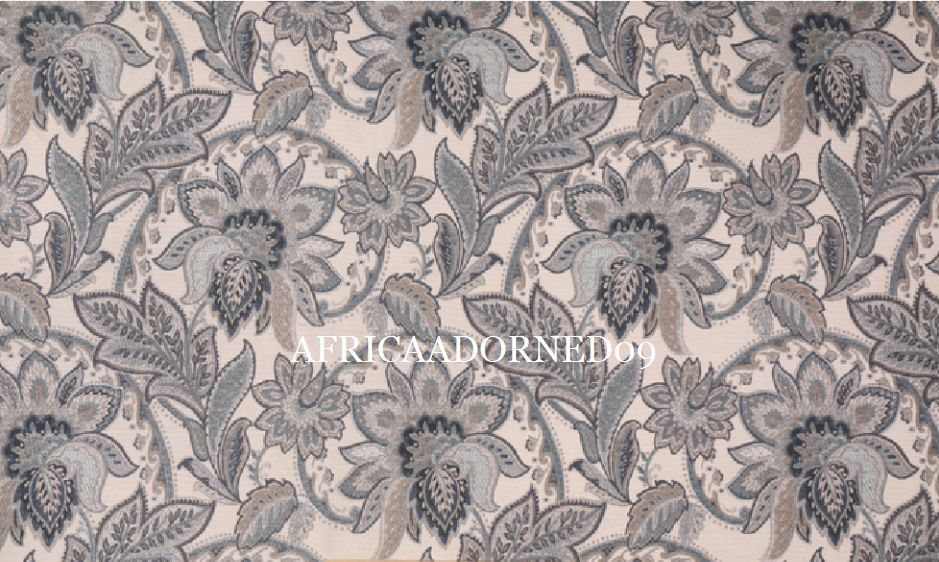 GK7 EXQUISITE MEDIUM/HEAVY  WEIGHT WOVEN FLORAL PAISLEY  UPHOLSTERY  FABRIC BTY