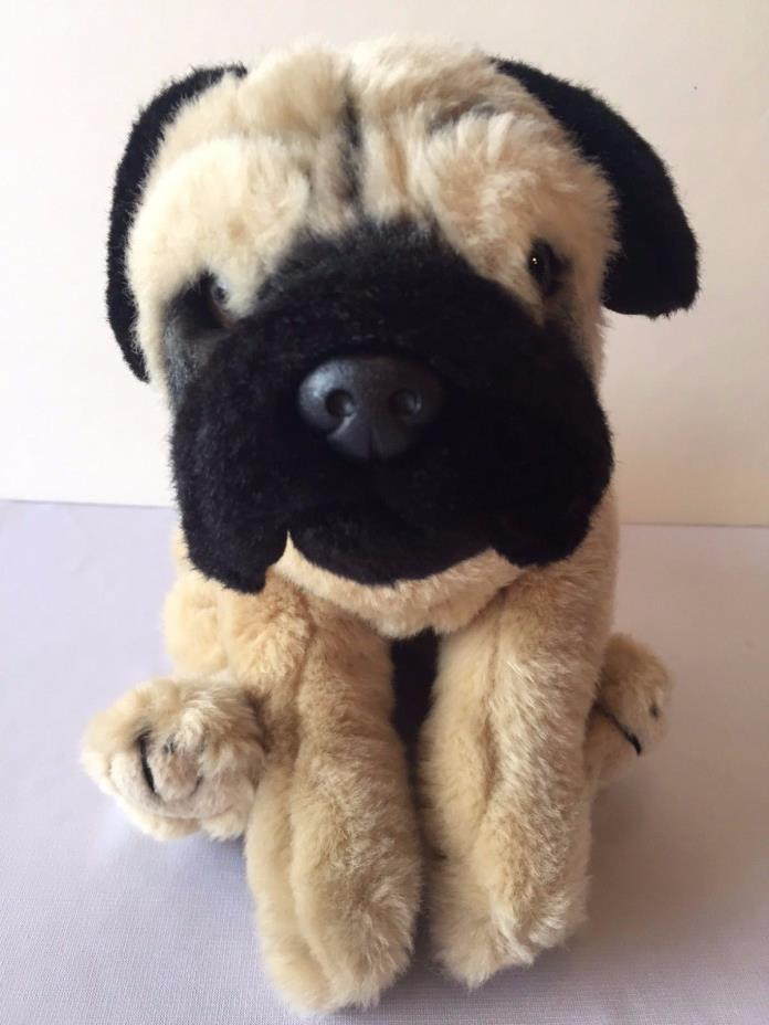 Pug Animal Alley Toys R Us Plush Stuffed Animal Dog Puppy
