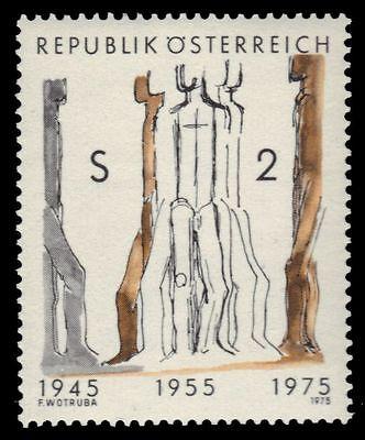 AUSTRIA 1014 (Mi1485) - Second Republic of Austria 30th Anniversary (pa15200)