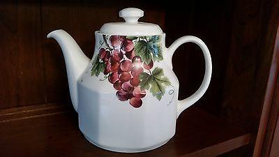 royal doulton vintage grape teapot