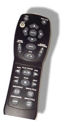 2002-2003 GMC Envoy Rear Seat DVD Remote Control