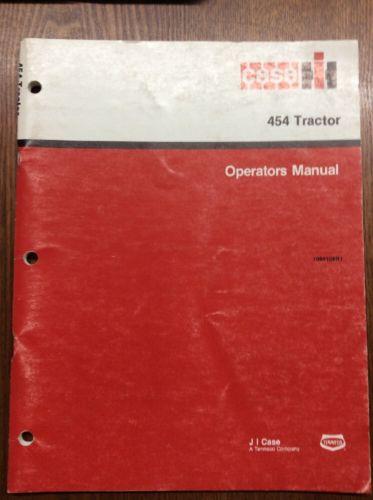 IH 454 Tractor Operators Manual