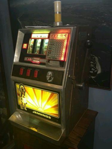 antique jennings quarter slot machine game