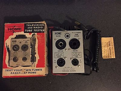 Vintage Home Television TV Radio Tube Tester