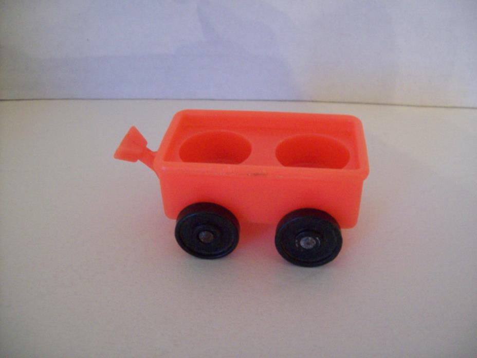 Fisher Price Little People red wagon Sesame Street #937 Clubhouse 1970's