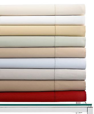 Hotel Collection Queen Fitted Sheet White 600 TC DISPLAY ITEM!!!!!!!!!!!!
