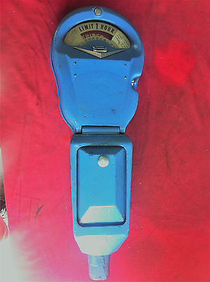 Vintage Park-O-Meter Parking Meter (ROCKWELL) Automotive Collectible Art Arcade