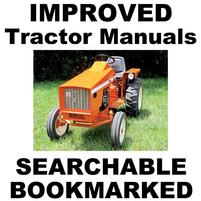 Allis Chalmers 616 620 720 Tractor FACTORY SERVICE REPAIR MANUAL SEARCHABLE CD