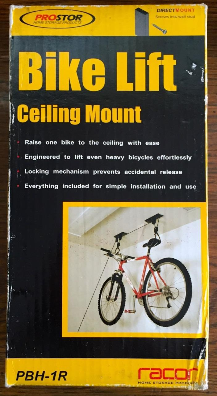 PROSTOR CEILING MOUNT BICYCLE LIFT PBH-1R