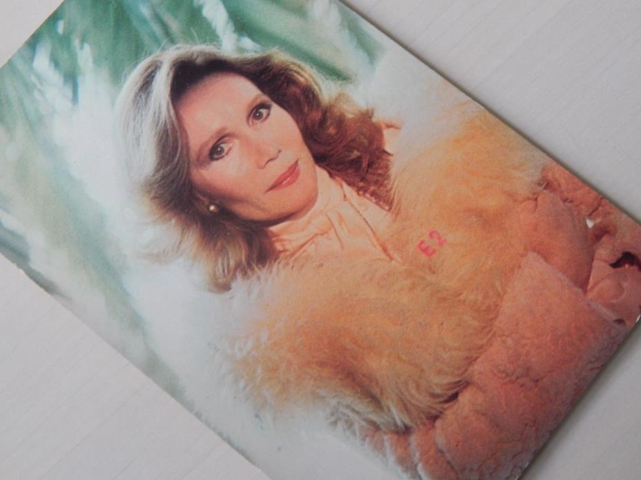 Vintage Katherine helmond Television TV Actress Signed Post Card 1991