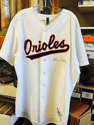 2004 Baltimore Orioles Mark Wiley Throwback Game Used Jersey MLB Authenticated