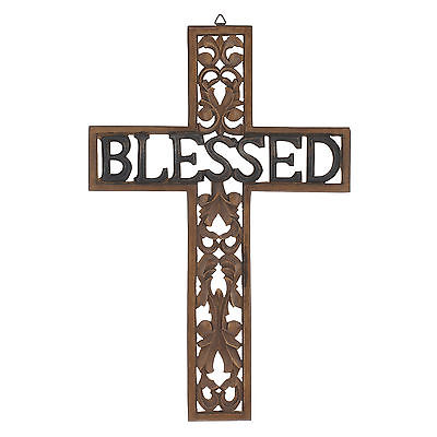 CKK Home Décor, LP Stonebriar Blessed Cross Wall Decor