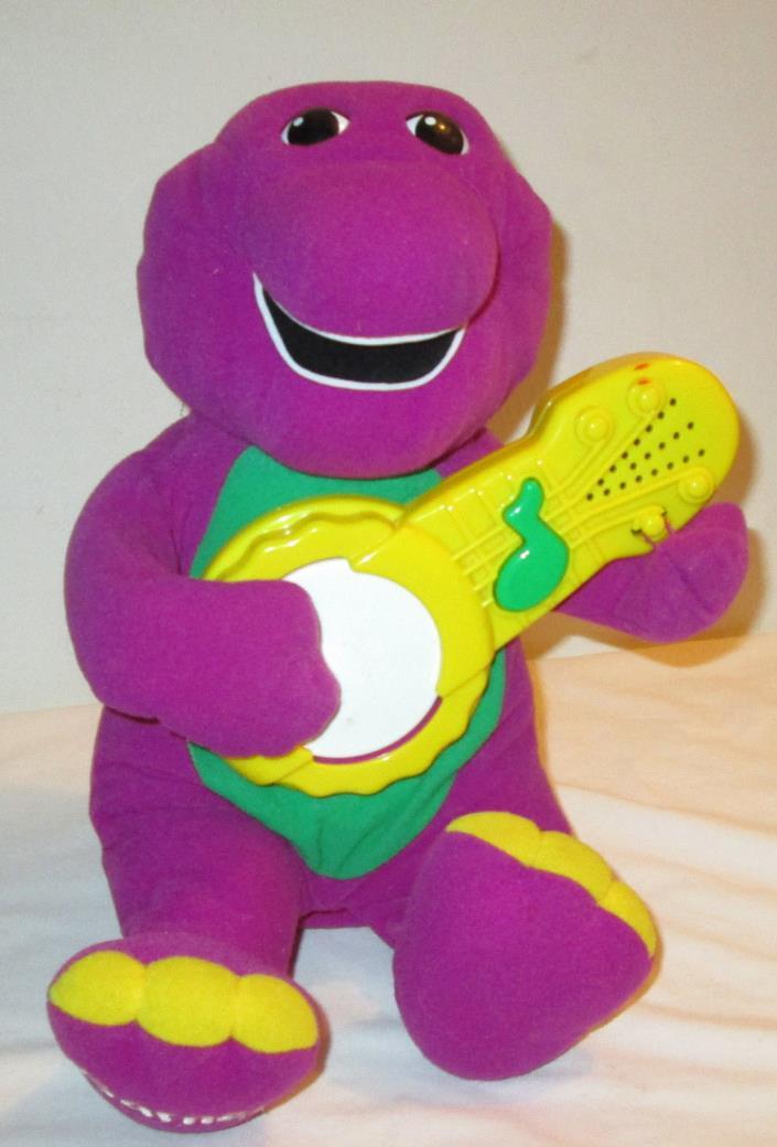 Hasbro 1998 Banjo Playing, Singing Barney