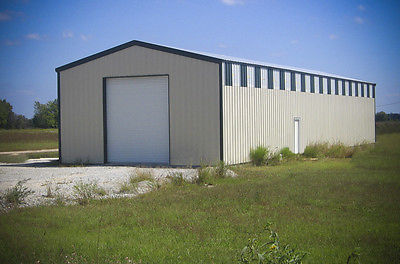 Steel Garage/Workshop Building Kit 30'x100'x16' Excel Metal Building Systems Inc