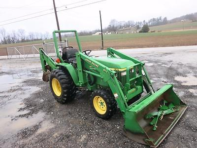 John Deere 790 TLB Tractor With OEM Loader & Backhoe, Only 534 Hrs, 1 Owner, 4x4