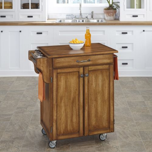 Small Kitchen Cart on Wheels and Islands Cabinet Storage Drawer Rack