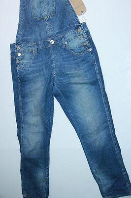 True Religion Men women Overall Denim Jeans XS