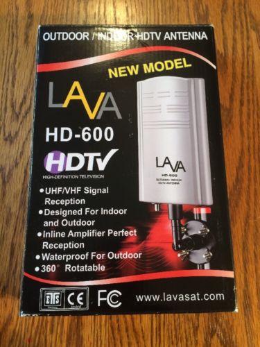 Lava HD-600 Lava Electronics Indoor/Outdoor HDTV Antenna  ASIN: B00317IIT4 SKU: