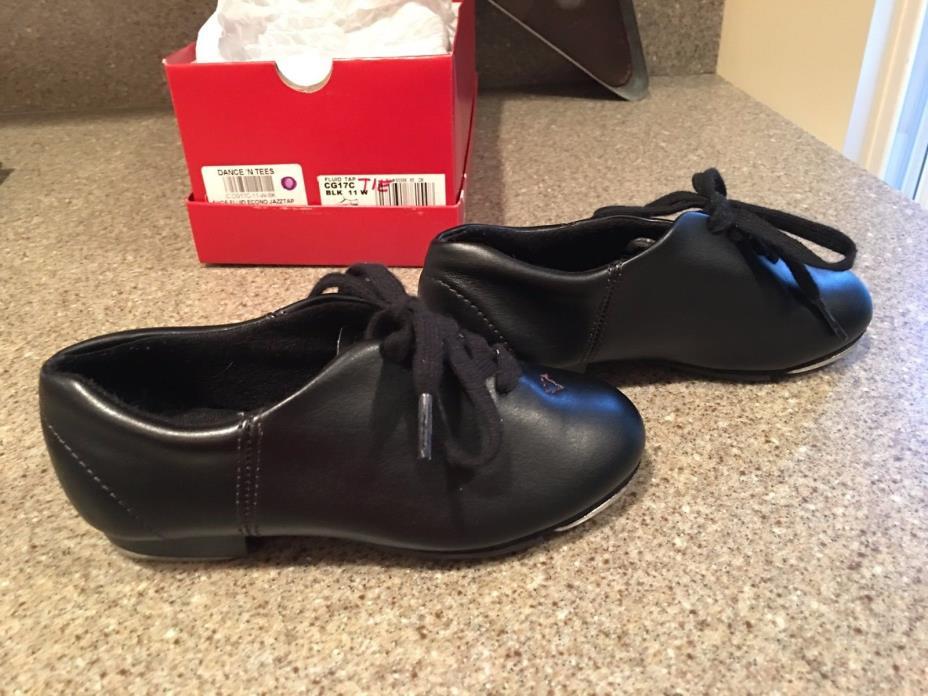 capezio tap shoes boys size 11W