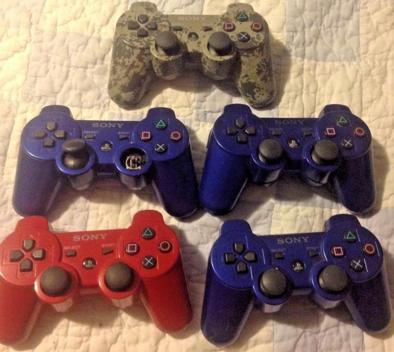 Sony Playstation 3 (PS3) Wireless Controllers