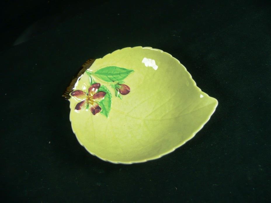 Carlton Ware small Leaf Dish - Australian Design