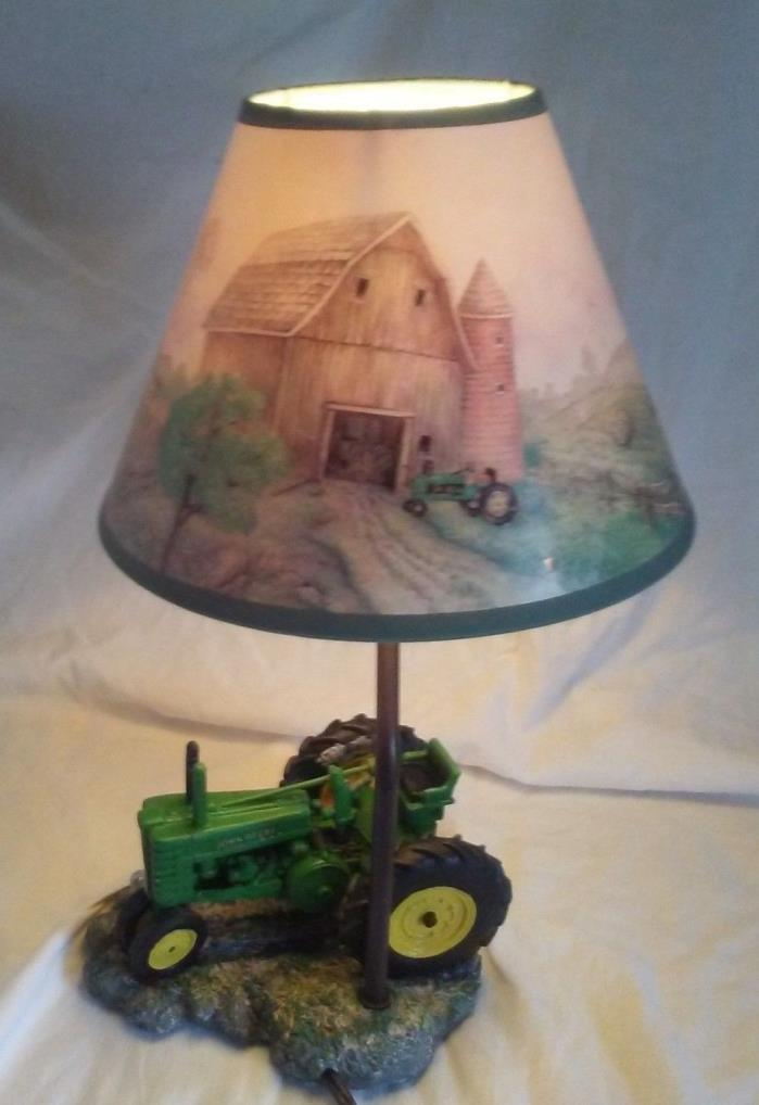 Tractor Desk Lamp : John deere lamp shade for sale classifieds