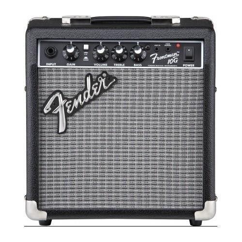 Electric Guitar Amplifier Fender Speaker Amp Sub Head Phone Mini 10 Watt Drum