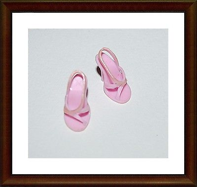 Pink Sandals - Shoes For -   Barbie -  Mattel - Lot 6
