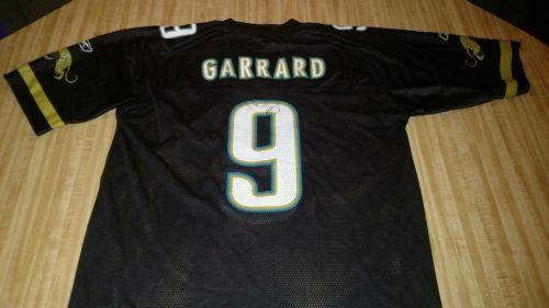 David Garrard Black Jersey Jacksonville Jaguars XL NFL Reebok