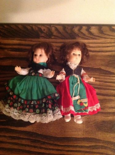 Vogue Dolls Vintage 1977 Ginny Dolls Irish And Italian