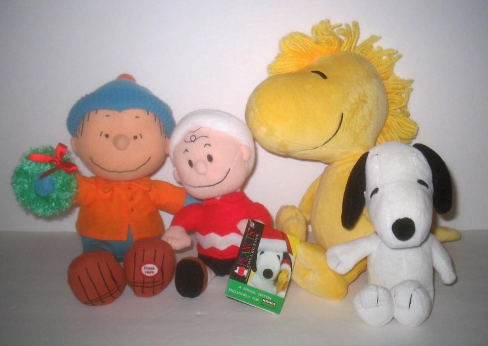 Bundled Lot Peanuts Gang PLUSH