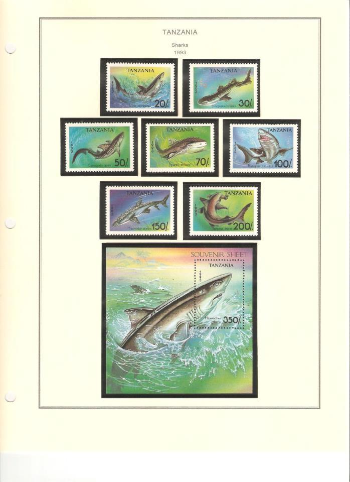 Tanzania Postage Scott #1136-1143 MNH