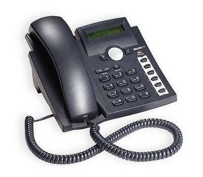 Snom SNO-300-BK Black Baseline Phone w/Message Waiting LED