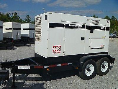 100kW Multiquip DCA125USJ Portable Diesel Generator. Low Hours.