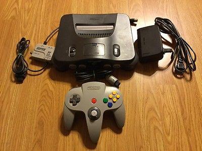 Nintendo 64 Console Bundle w/ Expansion Pak N64