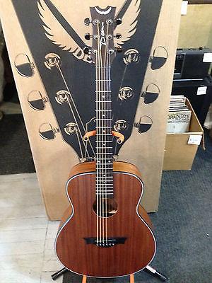 Dean Guitars AX Mini Acoustic Guitar Mahogany