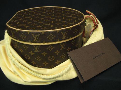 Authentic Louis Vuitton Boite Chapeaux Ronde 30 Hat Box zs